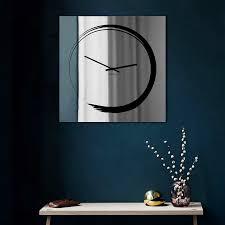 mirror wall clock s enso