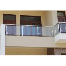 panel outdoor balcony glass railing rs