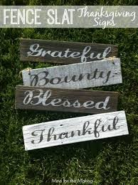 Fence Slat Thanksgiving Signs Mine For The Making Thanksgiving Signs Fence Slats Fall Thanksgiving Decor