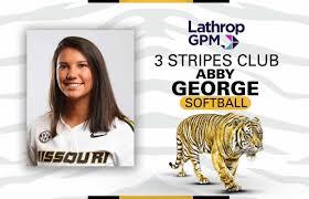 Mizzou Athletics - Abby George Three Stripes Club | Facebook