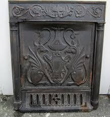 cast iron circa 1900 fireplace surround