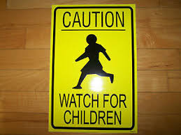 1 Caution Watch Children Vinyl Decal Sticker For Ice Cream Truck Water Ice Van Ebay