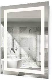 krugg led bathroom mirror 24 inch x 36