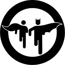 Vinyl Decal Sticker Batman Robin Decal For Windows Cars Laptops Macbook Yeti Coolers Mugs Etc Superhero Christmas Wall Decals Canvas Prints