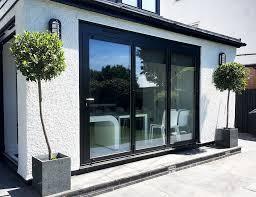 slimline aluminium bifold doors