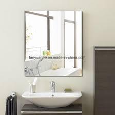 polished on wall decorative mirror