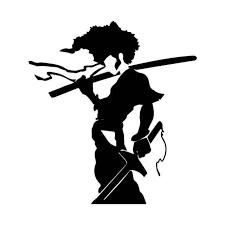 Afro Samurai Vinyl Sticker