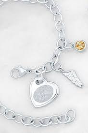 personalized charms bracelet