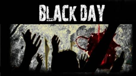 """Image result for Kashmiris observing Human Rights day as black day today"""""""