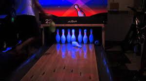 homemade bowling lane you