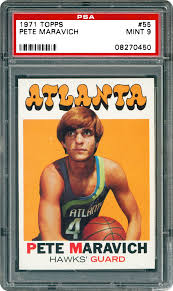 1971 Topps Pete Maravich   PSA CardFacts®