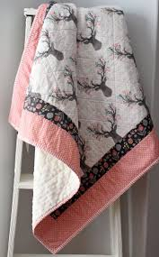 baby quilts baby quilts for girls deer