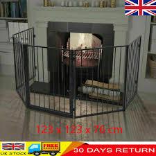 fireguard pet fireplace fence steel