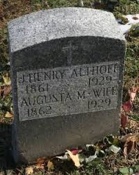 Augusta Hoffman Althoff (1862-1929) - Find A Grave Memorial