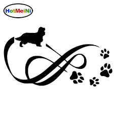 2020 Wholesale Cavalier King Charles Spaniel Animal Paw Print Car Stickers Vinyl Decal Car Styling Decoration From Zhangmin771215 24 13 Dhgate Com