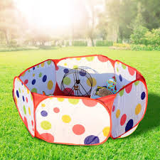 Pet Playpen Small Animals Cage Tent Portable Folding Yard Fence Breathable Transparent Pop Open Exercise Kennel Playpens