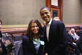 """Abby Finkenauer on Twitter: """"Honored to receive the endorsement of  President @BarackObama today. Here's a throwback to 2007, when I was a Page  for the IA House and had the opportunity to"""