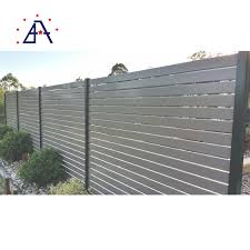 China America Market Picket Fence Flat Fence Loop Commercial Aluminium Fencing China Fence For Sale Fence Company