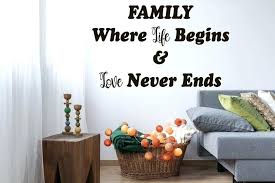 family definition wall decal quote zoom quotes decals kids room