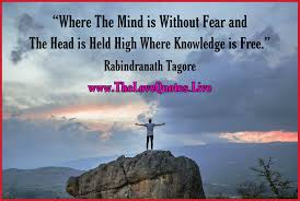 top rabindranath tagore quotes on inspirational education