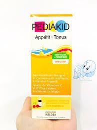 Pediakid Appetit tonus kích thích bé ăn ngon Pháp 125ml cho bé từ ...
