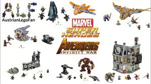 Lego Avengers Infinity War Compilation of all Sets - Lego Speed ...