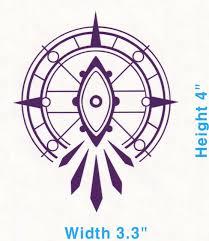 Dark Goddess Salem Emblem Rwby Truck Car Vinyl Decal Sticker Decalholics Ebay
