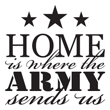Where The Army Sends Us Wall Quotes Decal Wallquotes Com
