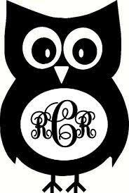 Free Monogram Owl Cliparts Download Free Clip Art Free Clip Art On Clipart Library