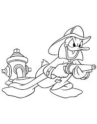 Donald Duck Kleurplaat 2