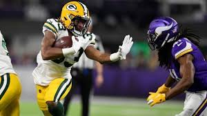 Aaron Jones TD run gives Packers lead over Vikings