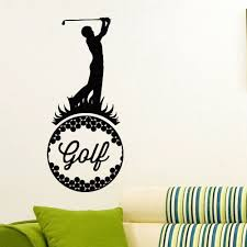 Shop Golfer Golf Ball Vinyl Wall Art Decal Sticker Overstock 10793017