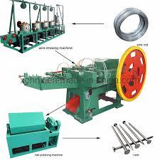 machine automatic nail making machine