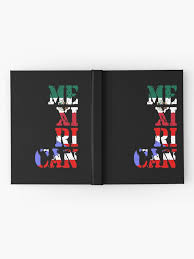 Puerto Rican Mexican Love Mexirican Hardcover Journal By Dubbra Redbubble