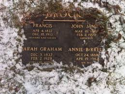 Sarah Priscilla Graham Brock (1837-1929) - Find A Grave Memorial