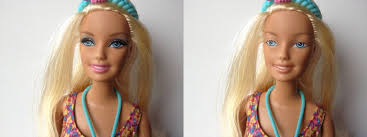 artist removes barbie s makeup to