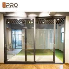 durable aluminium sliding glass doors