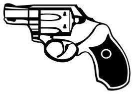 Handgun 1 Decal Sticker