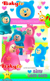 Kit Imprimible Billy Bam Bam Baby Tv Invitaciones Banderines