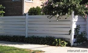Vinyl Fence Horizontal Picture Interunet