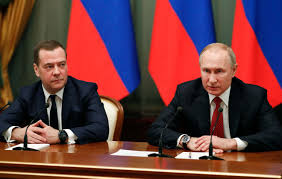 Dmitry Medvedev announces Russian government resigning after Vladimir Putin  proposed constitutional changes - CNN Video
