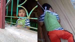 Bé trai 4 tuổi bị buộc dây vào người ở lớp mẫu giáo gây phẫn nộ