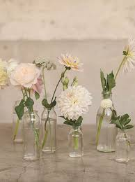 small vases in decors