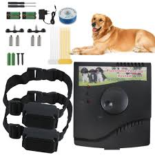 Underground Electric Dog Fence System Waterproof Shock Collars For 2 3 Dogs