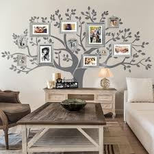 Photo Family Tree Wall Decal Lime Wall Decor
