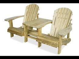 wood patio furniture building plans