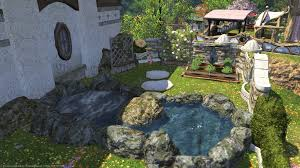 Yasumi Hoshikawa Blog Entry Tiny Housing Garden Ideas Final Fantasy Xiv The Lodestone