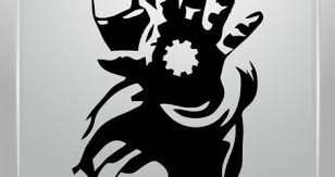 Iron Man Mac Decal 3d Wall Sticker Decor Art Canvas Vinyl Amazon Vamosrayos