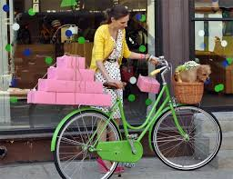 Kate Spade for Adeline Adeline: Kelly Green Bike Launch | Green bike,  Bicycle, National bike month