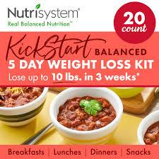 nutrisystem kickstart red kit real